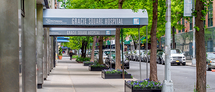Gracie Square Hospital 前門入口